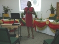 Nerissa Golden presenting