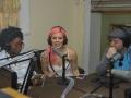 2016 Presenters on the Cultural Show at Radio Montserrat Eva Greene Wilson, Annalee Belle and JD Scott